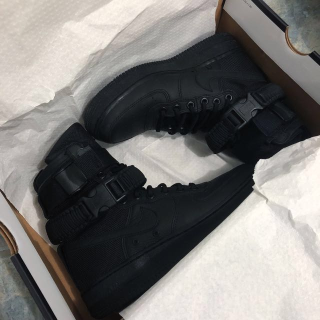 Nike Women's SF-AF1 Triple Black