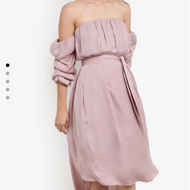 OFF SHOULDER DRESS / KOREAN DRESS / SABRINA DRESS