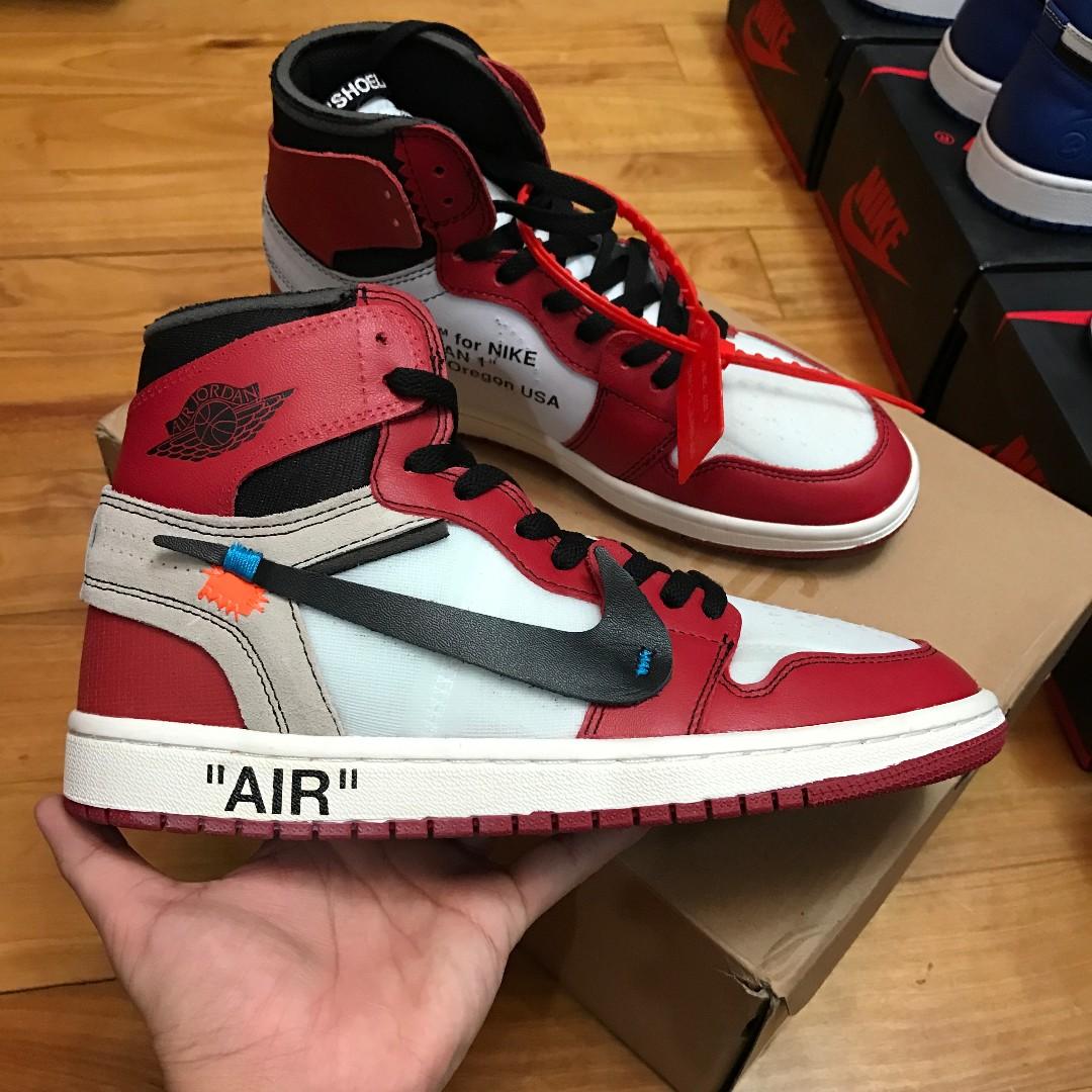 separation shoes 49190 a99cb Off White x Nike Air Jordan 1