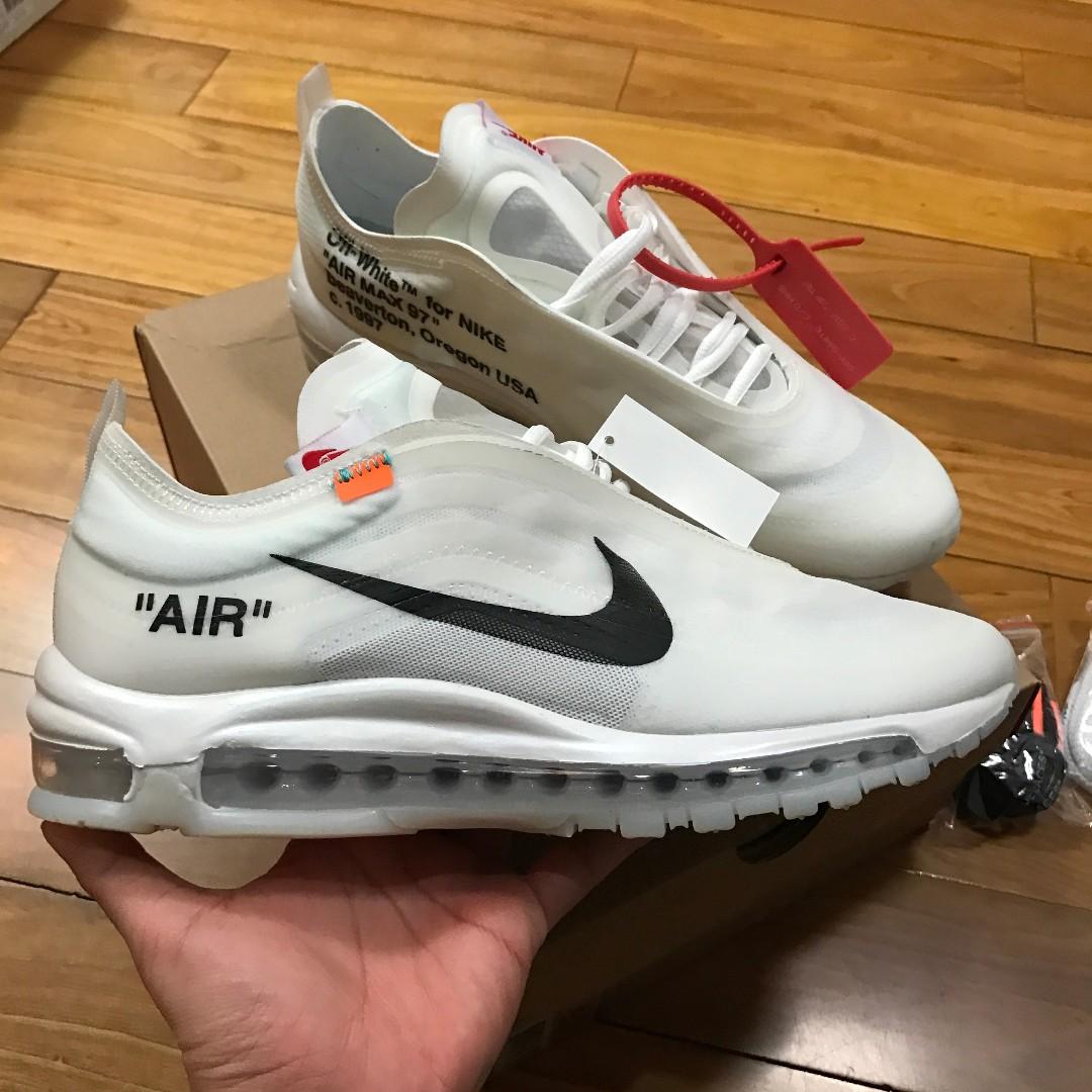 f4096602099eb Off White x Nike Air Max 97
