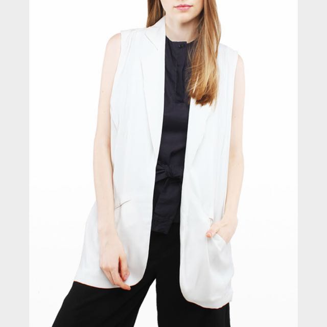 Offwhite Vest By COTTON INK