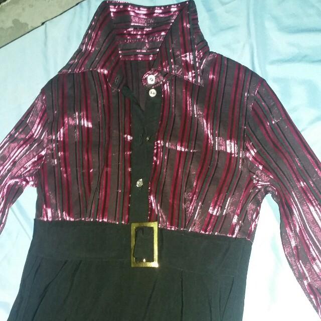 One-piece elegant dress