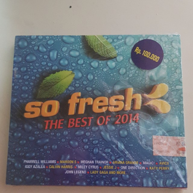 ORIGINAL CD SO FRESH BEST OF 2014