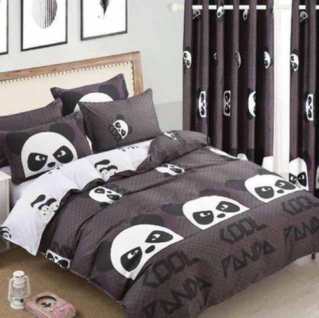 Panda US Cotton Bedsheet Set