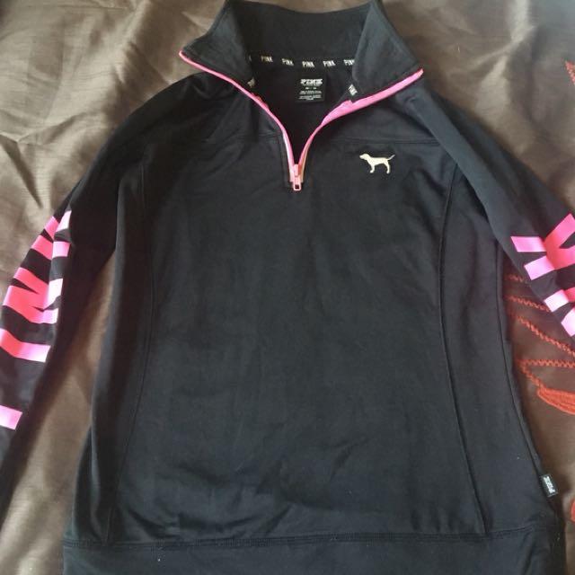 Pink (Victoria Secret) Athletic Turtleneck Sweatshirt