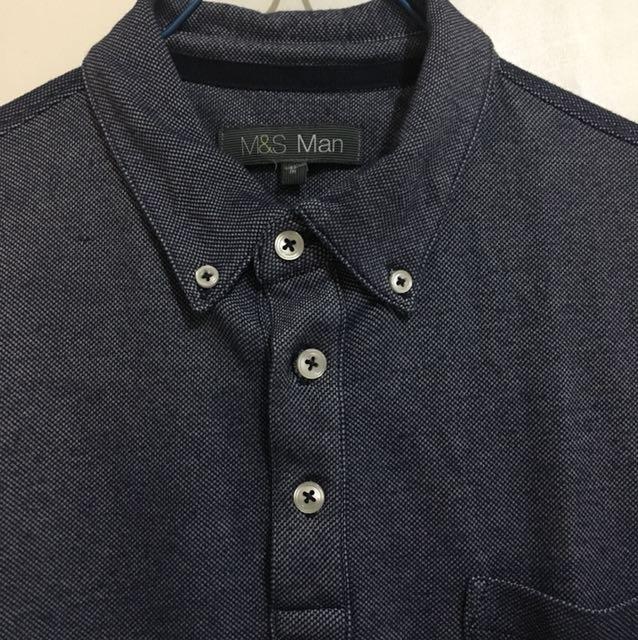 Polo shirt Blue Marks & Spencer