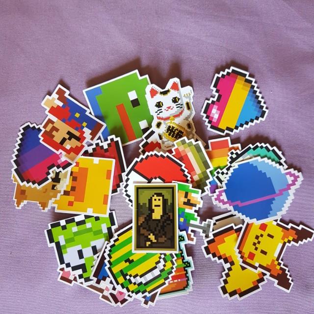 Random stickers/decals