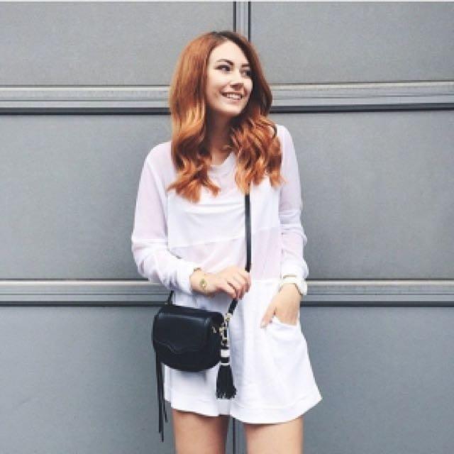 歐美時尚💕rebecca minkoff suki黑色馬鞍包