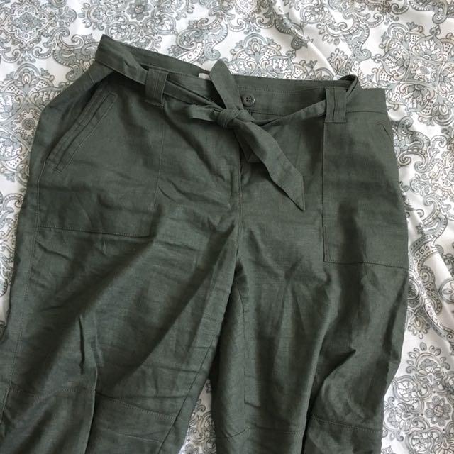 Reitmans cropped pants