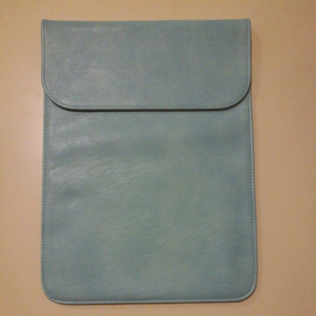Sky blue laptop case