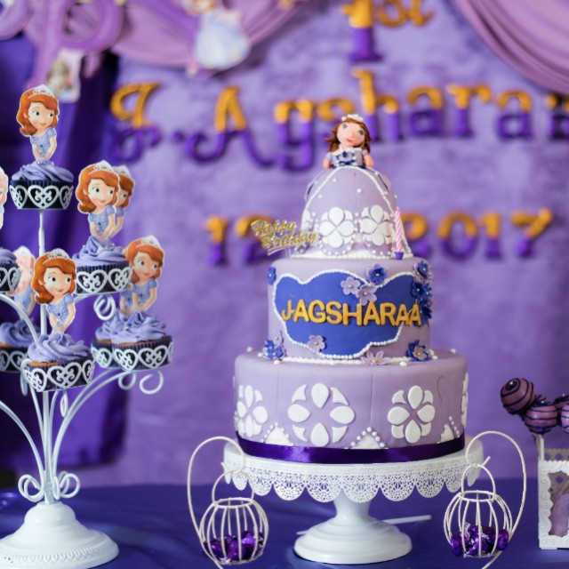 Remarkable Sofia The First Birthday Cake Food Drinks Baked Goods On Carousell Funny Birthday Cards Online Fluifree Goldxyz