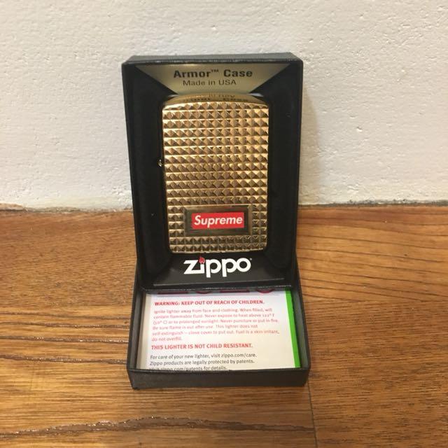 Supreme 17fw zippo