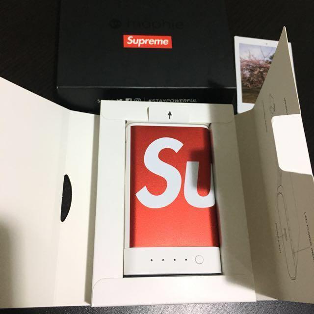 separation shoes fc087 5d962 Supreme Mophie Encore 10K portable charger