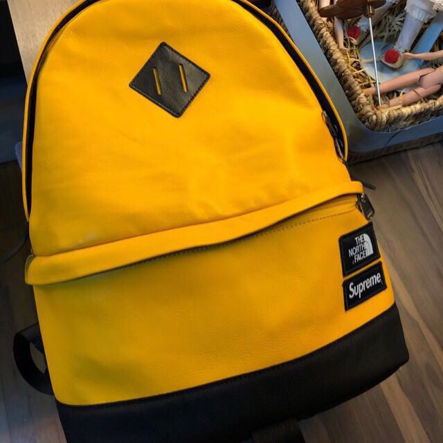 32d03b0c6 Supreme x The North Face leather backpack