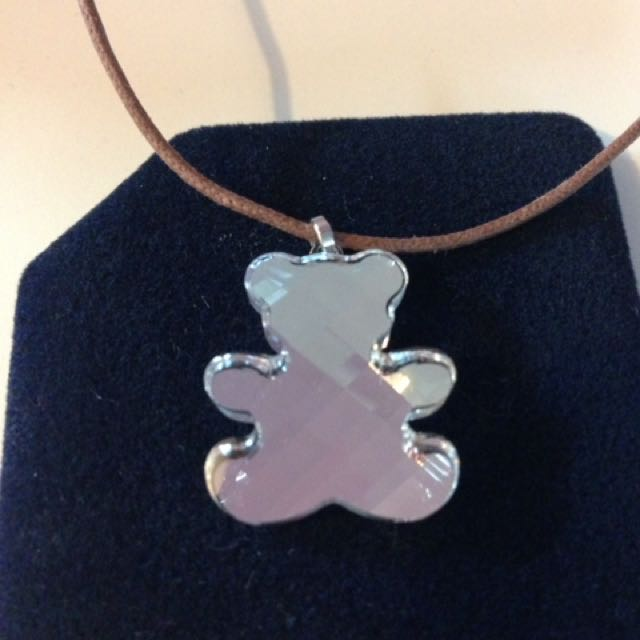 Swarovski Teddy Bear Necklace