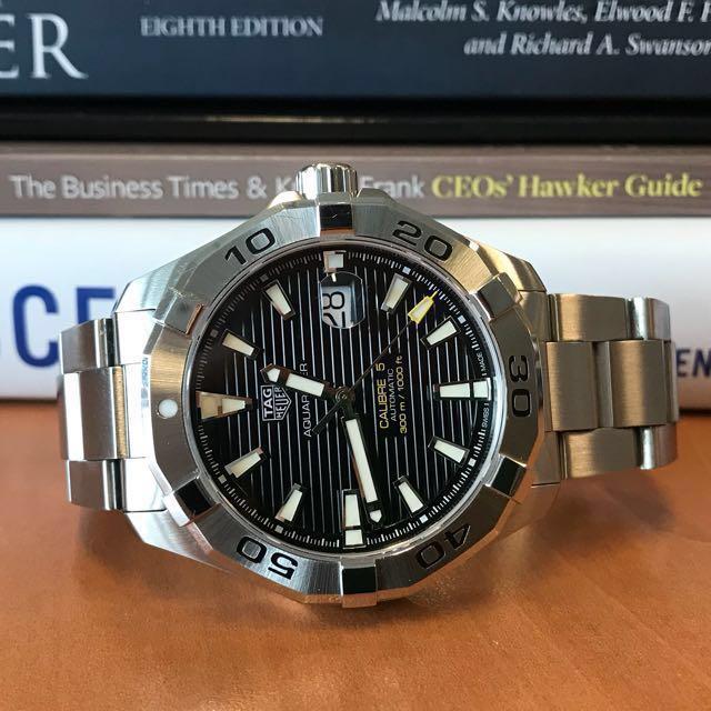 04bccc008f4 Tag Heuer Aquaracer 300m Calibre 5