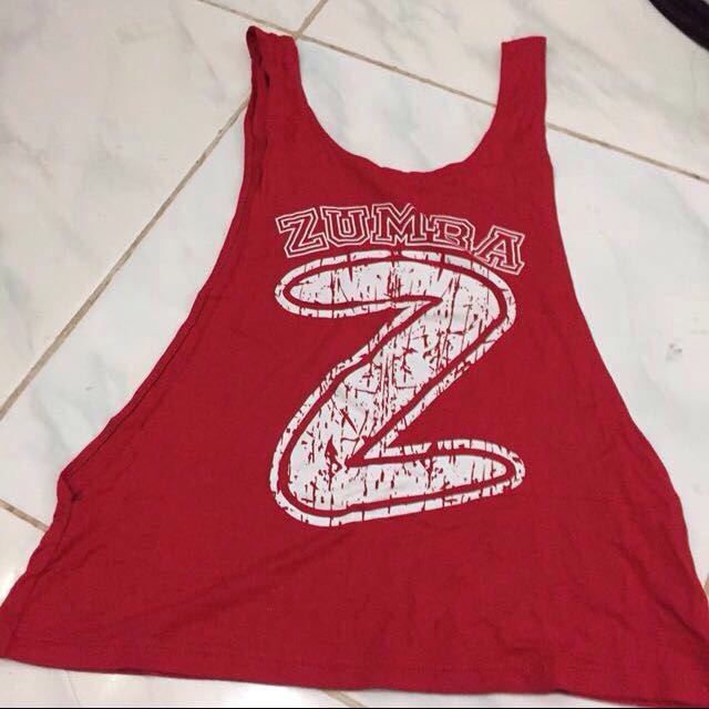 Tanktop Zumba or Outer Sport