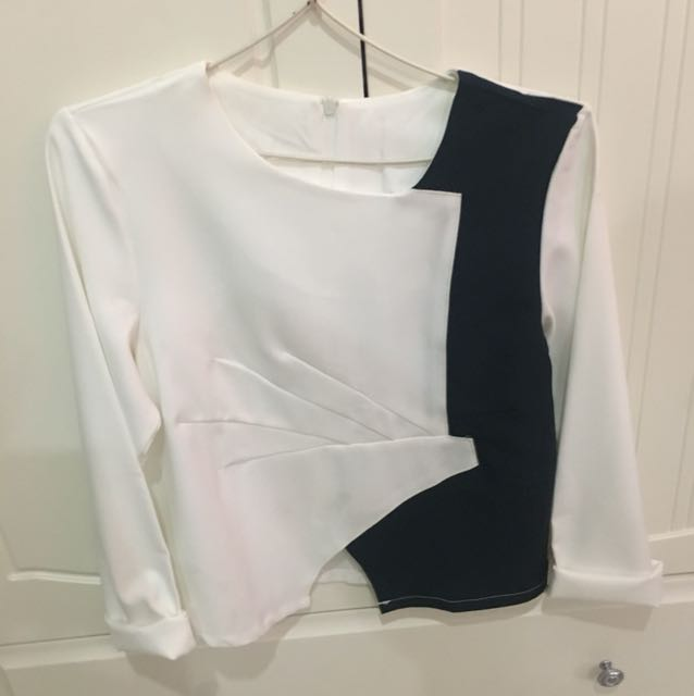 two colors shirt