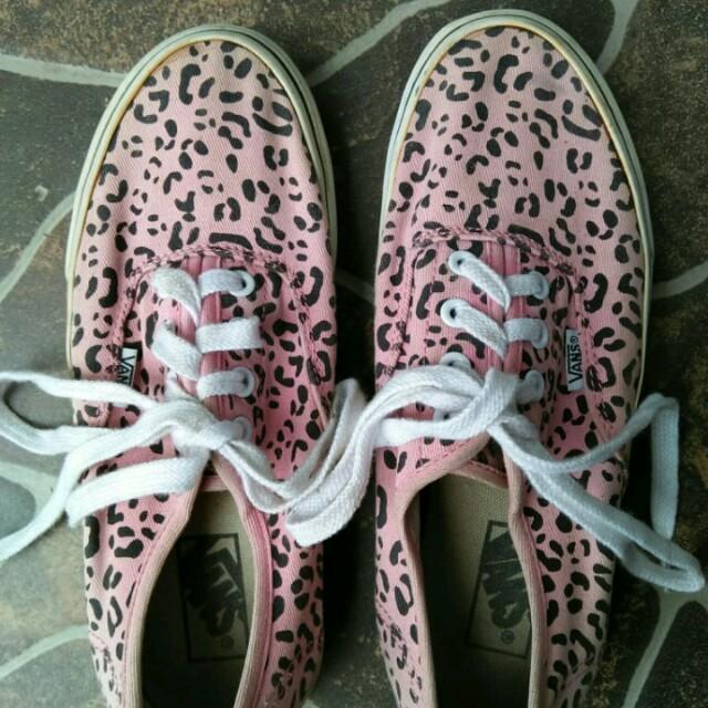 Vans Authentic Leopard Print