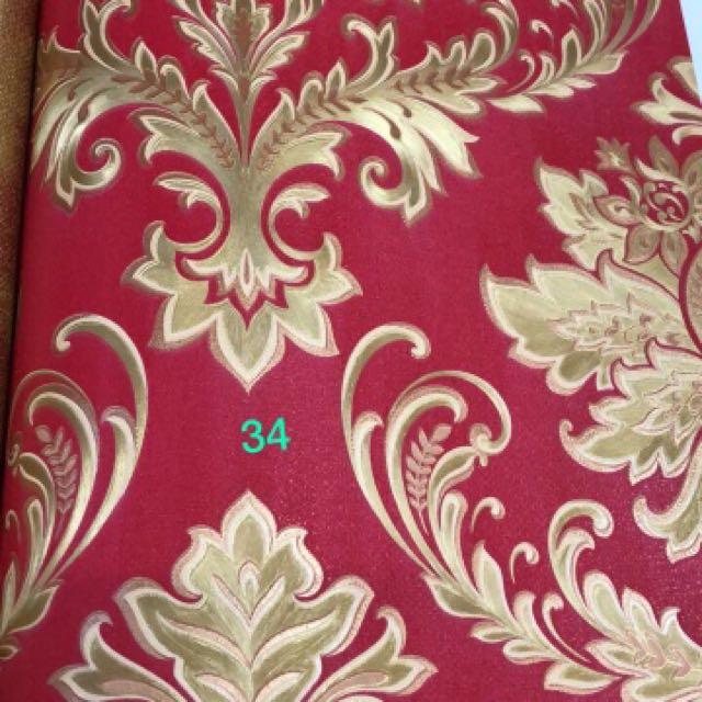 wallpaper dinding classic merah 1516986119 5bb14405