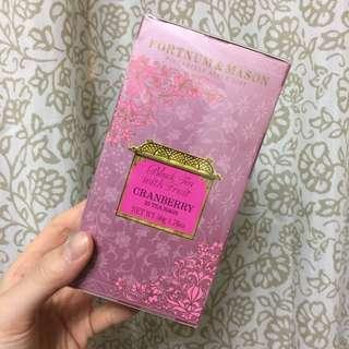 【英國百年品牌好茶】F&M蔓越梅紅茶