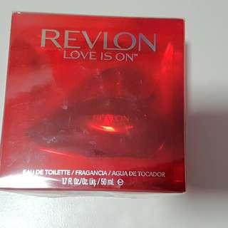 BNIB Revlon Love Is On Eau De Toilette 50ml
