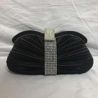 Diamond-crusted Purse/Clutch Bag