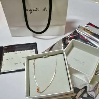 Agnis B necklace for girlfriend gift 頸鏈