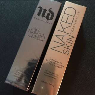 Urban decay Naked skin/All-nighter