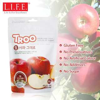 Korean Natural Freeze-dried Fruit (Apple) 韓國天然冷凍乾果 (蘋果)