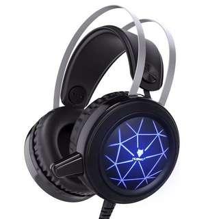 Computer Headsets Head-mounted desktop gaming gaming headset bar with wheat microphone cf NUBWO wolf Bo Wang N1