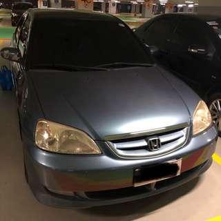 Honda Civic Vtis 03