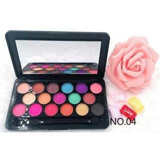 17 color eyeshadow