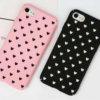 Heart hati Hard Plastic Case Casing Back Cover Iphone 6 6s Plus