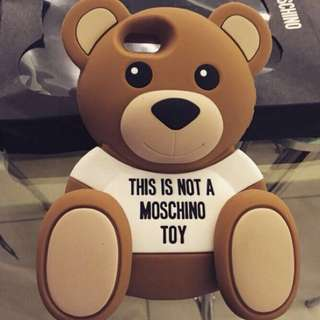 🚚 (iPhone 6、7可用)Moschino Toy熊熊🐻手機殼