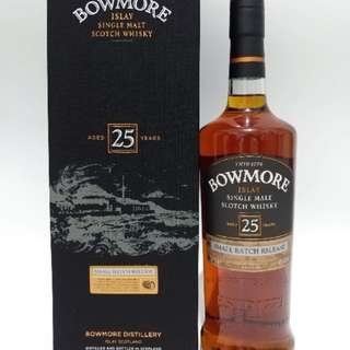 Bowmore 25 Year Old Scotch whisky 750ml