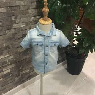 baby girl Denim top
