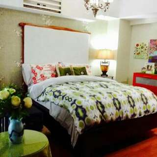 Eton Parkview Greenbelt for rent, 2BR loft type, Fully Furnished,