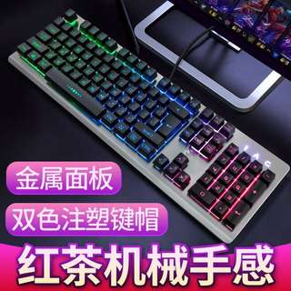 Mechanical Keyboard Wired Gaming Keyboard