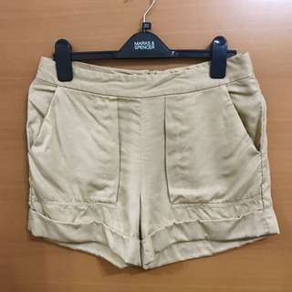 Zara Beige Shorts Size S