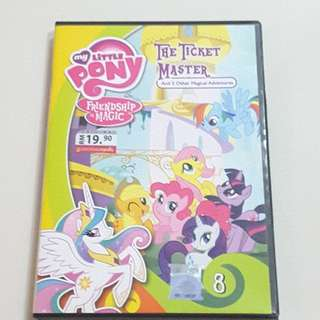 Pre-Loved My Little Pony(Friendship is Magic) DVD x1