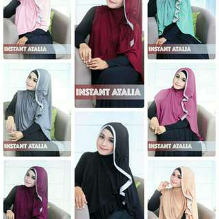 Kerudung Jilbab Instant Atalia