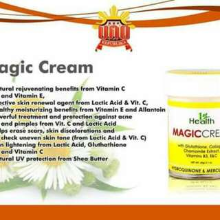 Magic Face Cream Buy 1 take 1 free