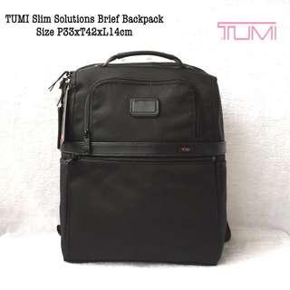 Tumi Slim Solution Brief Backpack