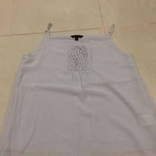 Spagetti strapped Chiffon blouse
