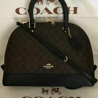 Authentic Coach Sierra Satchel Bag