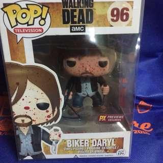 Funko pop twd biker Daryl
