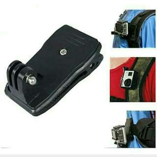 Brand new Belt / Bag Clip for Gopro Hero Rotatable 360 degrees
