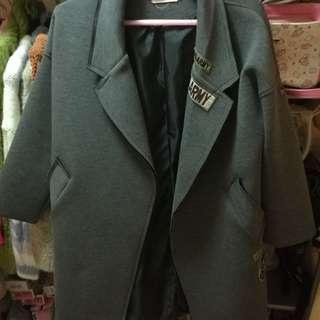 太空棉大衣 繭型大衣 外套