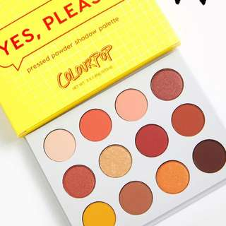 [GET IT NOW💓] COLOURPOP YES PLEASE BEST SELLING PALETTE PREORDER PO